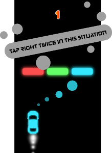 screenshot of Color Checkpoint | RGB Car Race version 0.1