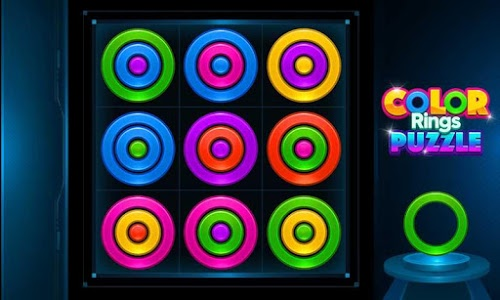 screenshot of Color Rings Puzzle version 2.4.2