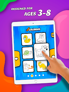 screenshot of Coloring for Kids: Animals version 1.4