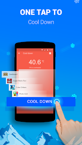 screenshot of Cooling Master - Phone Cooler Free, CPU better version Varies with device
