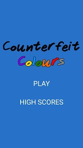 screenshot of Counterfeit Colours version 1.0