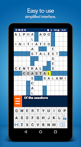 screenshot of Crossword Puzzle Free version 2.6.92.85-gp
