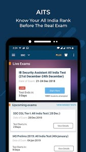 screenshot of Current Affairs GK - Tests for SSC Railways version 16.3.4