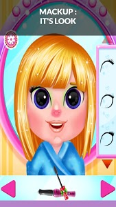 screenshot of Cute Baby Salon Girl : All Dresses Free version 1.0