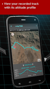 screenshot of Walking Odometer Pro: GPS Fitness Pedometer version Varies with device