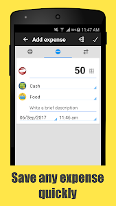 screenshot of Daily Expenses 3: Personal finance version 3.2.80
