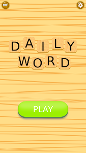 screenshot of Daily Words version 1.2