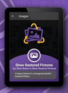 screenshot of Deleted Photos Recover From Gallery version 1.9