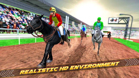 screenshot of Derby Racing Horse Game version 1.1