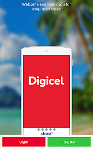 screenshot of Digicel Top Up version Varies with device