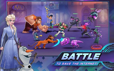 screenshot of Disney Heroes: Battle Mode version 1.16.11