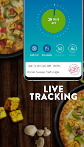 screenshot of Domino's Pizza Online Delivery version 7.2.1