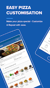 screenshot of Domino's Pizza Online Delivery version 5.6.2