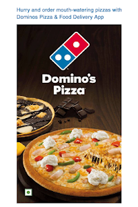 screenshot of Domino's Pizza Online Delivery version 4.1