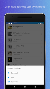 screenshot of Download Mp3 Music - Unlimited Free Music Download version 1.1.0