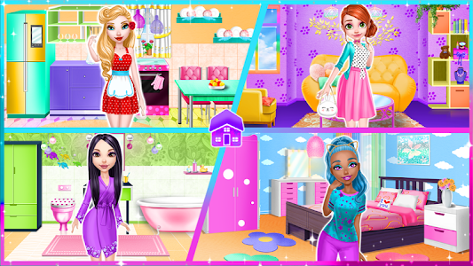 screenshot of Dream Doll House - Decorating Game version 1.2