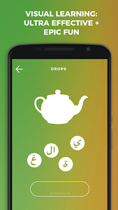 screenshot of Drops: Learn Arabic language and alphabet for free version 31.72