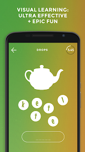 screenshot of Drops: Learn German. Speak German. version 29.6