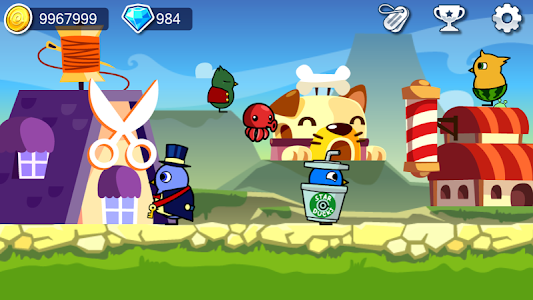 screenshot of Duck Life: Treasure Hunt version 5.5