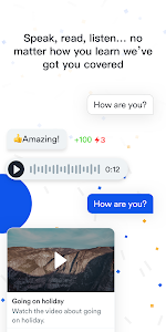 screenshot of EF Hello - Free English Learning version 1.10.19