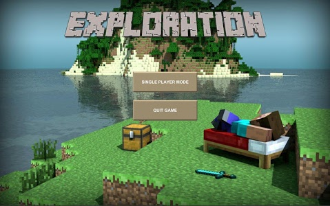 screenshot of Exploration Lite: Crafting & Building version 1.1.4