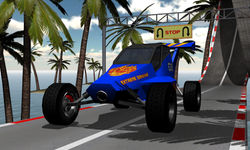 screenshot of Extreme Car Driving. Car Racing with Super Stunts. version 1.8