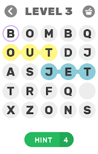 screenshot of FIND THE WORD - VERY HARD version 1.5.9z