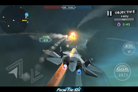 screenshot of FROM THE SEA version 1.1.7