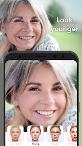 screenshot of FaceApp version 3.5.5.2