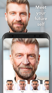 screenshot of FaceApp version 3.3.2