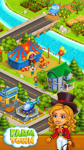 screenshot of Farm Town: Happy village near small city and town version 2.49