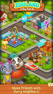 screenshot of Farm Zoo: Happy Day in Animal Village and Pet City version 1.38