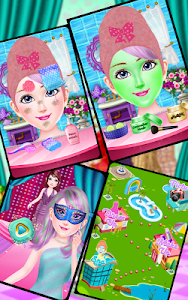 screenshot of Fashion Doll Makeover Spa and Dress up version 1.4