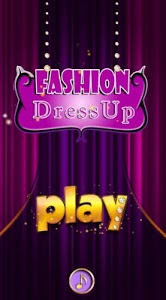 screenshot of Fashion DressUp Deluxe version 2.0