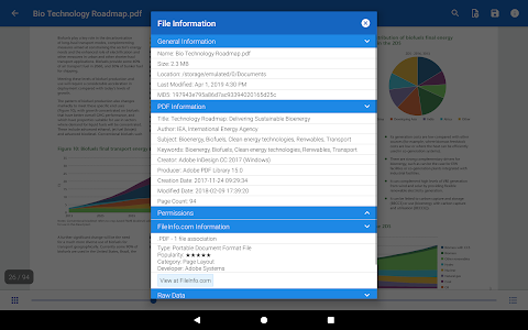 screenshot of File Viewer for Android version 3.1