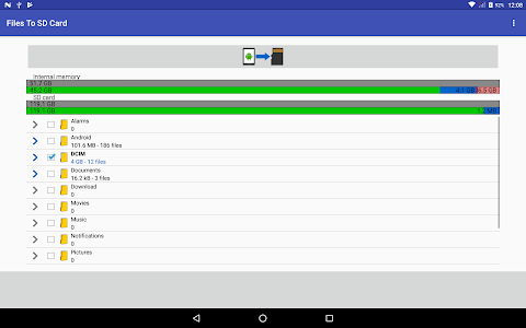 screenshot of Files To SD Card version 1.51