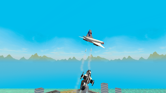 screenshot of Flying Police Motorcycle Rider version 1