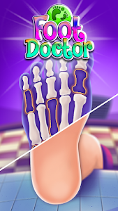 screenshot of Foot Doctor Clinic Games version 1.0