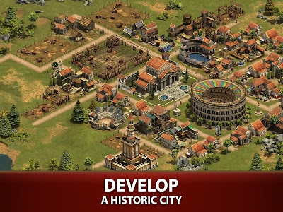 screenshot of Forge of Empires version 1.71.0
