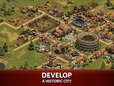 screenshot of Forge of Empires version 1.80.0