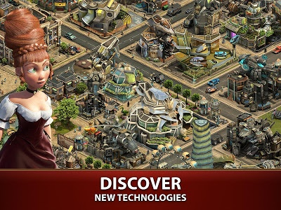 screenshot of Forge of Empires version 1.135.0