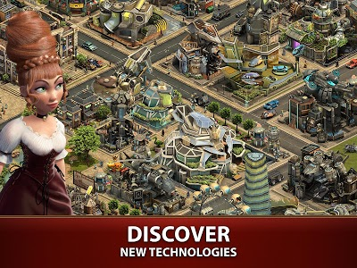 screenshot of Forge of Empires version 1.150.0