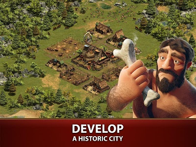 screenshot of Forge of Empires version 1.108.2