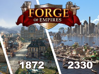 screenshot of Forge of Empires version 1.146.0