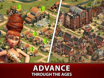 screenshot of Forge of Empires version 1.179.15