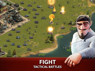 screenshot of Forge of Empires version 1.131.2