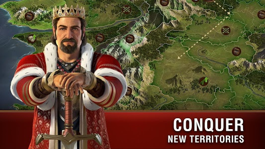 screenshot of Forge of Empires version 1.52.3