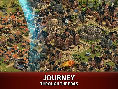 screenshot of Forge of Empires version 1.81.0