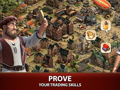 screenshot of Forge of Empires version 1.87.3