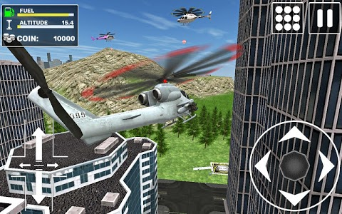 screenshot of Free Helicopter Flying Simulator version 0.6